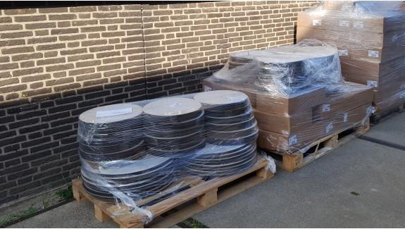 Maten van 10 tot 125 mm zelfklevende rubber flensbeschermers