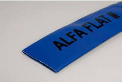 """0,75"""" (19) Plat oprolbare slang (blauw) type Alfaflat M"""